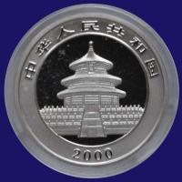 China Panda 1oz 2000