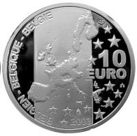 België 10 euro 2003 Proof in Capsule