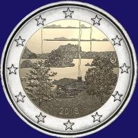 Finland 2 euro 2018 II Unc