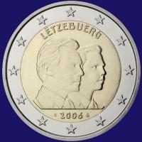 Luxemburg 2 euro 2006 Unc