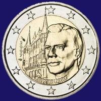 Luxemburg 2 euro 2007 II Unc