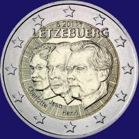 Luxemburg 2 euro 2011 Unc