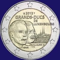 Luxemburg 2 euro 2012 II Unc
