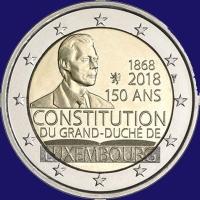 Luxemburg 2 euro 2018 I Unc