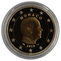 Monaco 2 euro 2010 Proof