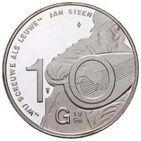 10 Gulden 1996 Proof