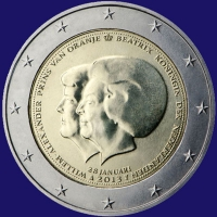 Nederland 2 euro 2013 I Proof