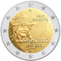San Marino 2 euro 2016 I