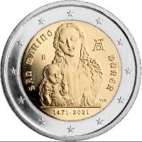 San Marino 2 euro 2021 I