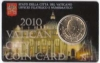 Vaticaan Coincard nr. 1 2010