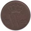 1 Cent 1822 Utrecht Zf-
