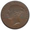 Groot Brittannië Penny 1854 uit 1853