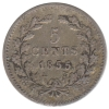 5 Cent 1855 Zf.