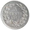 5 Cent 1862 Unc