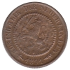 ½ Cent 1891 Fdc -