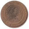 ½ Cent 1891 Pr. -