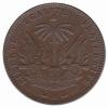 Haiti 1 cent AN 92 = 1895