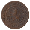 ½ Cent 1901 Zf.-