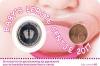 Nederland Coincard 2017 Baby Meisje