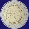 Cyprus 2 euro 2009 Unc