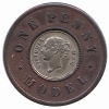 Great Britain 1 Penny model nd.