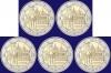 Duitsland 2 euro 2010 serie van 5