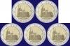 Duitsland 2 euro 2011 serie van 5