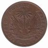 Haiti 2 cent AN 91 = 1894