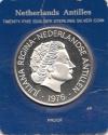 Antillen 25 Gulden 1976 Proof