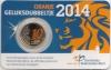 Nederland Coincard 2014 10 Cent Unc