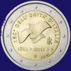 Italië 2 euro 2011 Unc