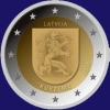 Letland 2 euro 2017 II