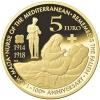 Malta 5 euro 2014 Unc