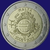 Malta 2 euro 2012 I Unc