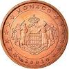 Monaco 1 Cent 2001 Unc