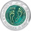 Oostenrijk 25 euro 2018 NIOB
