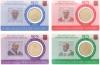 Vaticaan Coincard nr. 22 t/m 25 2019 met zegel
