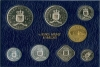 Ned. Antillen Fdc set 1980 blauwe verp.