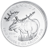"Canada Maple Leaf 2012 Canadian Wildlife ""De Eland"""