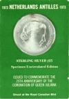 Antillen 25 Gulden 1973
