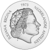 Antillen 25 Gulden 1973 Bu in Munthouder