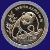 China Panda 1oz 1990