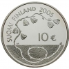 Finland 10 euro 2005 I Proof in Capsule