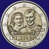 Luxemburg 2 euro 2021 II Unc Relief Variant
