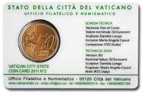 Vaticaan Coincard nr. 2 2011